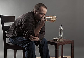 фото алкоголизм у мужчины